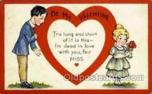 val001712 - Valentines Day Postcard Postcards