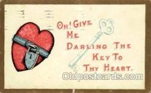 val001747 - Valentines Day Postcard Postcards