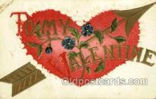 val001757 - Valentines Day Postcard Postcards