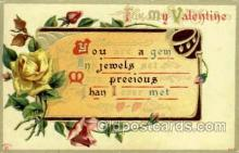 val001794 - Valentines Day Postcard Postcards