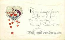 val001795 - Valentines Day Postcard Postcards