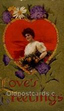 val001830 - Reproduction Valentines Day Postcard Postcards
