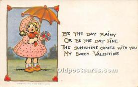 val002006 - Valentines Day Post Cards Old Vintage Antique Postcards