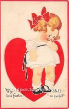 val002011 - Valentines Day Post Cards Old Vintage Antique Postcards