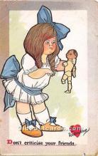 val002012 - Valentines Day Post Cards Old Vintage Antique Postcards