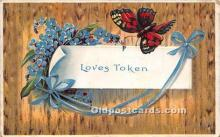 val002014 - Valentines Day Post Cards Old Vintage Antique Postcards