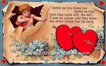 val002017 - Valentines Day Post Cards Old Vintage Antique Postcards