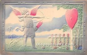 val002018 - Valentines Day Post Cards Old Vintage Antique Postcards