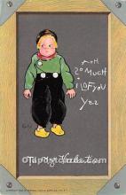 val002019 - Valentines Day Post Cards Old Vintage Antique Postcards
