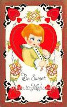 val002025 - Valentines Day Post Cards Old Vintage Antique Postcards