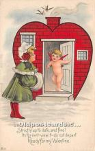 val002026 - Valentines Day Post Cards Old Vintage Antique Postcards