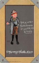 val002032 - Valentines Day Post Cards Old Vintage Antique Postcards