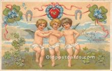 val002033 - Valentines Day Post Cards Old Vintage Antique Postcards