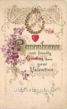 val002035 - Valentines Day Post Cards Old Vintage Antique Postcards