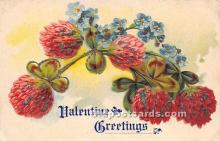 val002036 - Valentines Day Post Cards Old Vintage Antique Postcards