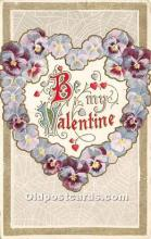 val002038 - Valentines Day Post Cards Old Vintage Antique Postcards
