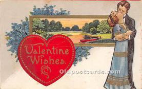 val002039 - Valentines Day Post Cards Old Vintage Antique Postcards