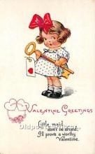 val002046 - Valentines Day Post Cards Old Vintage Antique Postcards