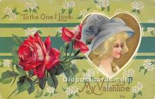 val002049 - Valentines Day Post Cards Old Vintage Antique Postcards