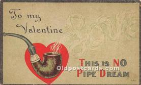val002051 - Valentines Day Post Cards Old Vintage Antique Postcards