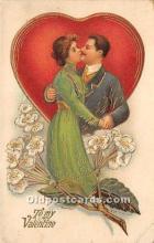 val002053 - Valentines Day Post Cards Old Vintage Antique Postcards