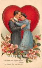 val002055 - Valentines Day Post Cards Old Vintage Antique Postcards