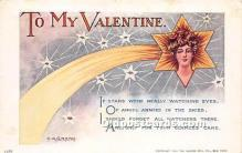val002056 - Valentines Day Post Cards Old Vintage Antique Postcards