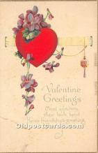 val002058 - Valentines Day Post Cards Old Vintage Antique Postcards