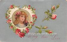 val002061 - Valentines Day Post Cards Old Vintage Antique Postcards