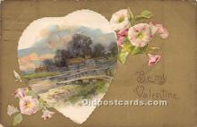 val002063 - Valentines Day Post Cards Old Vintage Antique Postcards