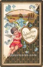 val002076 - Valentines Day Post Cards Old Vintage Antique Postcards