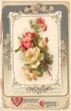 val002077 - Valentines Day Post Cards Old Vintage Antique Postcards