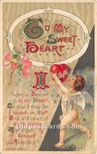 val002078 - Valentines Day Post Cards Old Vintage Antique Postcards