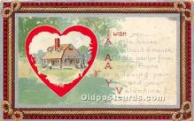 val002079 - Valentines Day Post Cards Old Vintage Antique Postcards