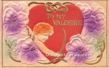 val002082 - Valentines Day Post Cards Old Vintage Antique Postcards