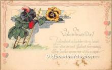 val002085 - Valentines Day Post Cards Old Vintage Antique Postcards