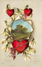 val002088 - Valentines Day Post Cards Old Vintage Antique Postcards
