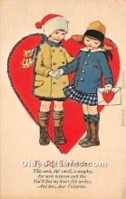 val002091 - Valentines Day Post Cards Old Vintage Antique Postcards
