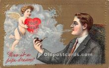 val002093 - Valentines Day Post Cards Old Vintage Antique Postcards