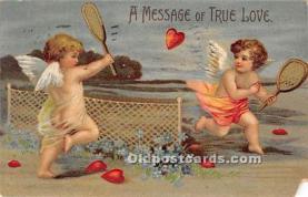val002094 - Valentines Day Post Cards Old Vintage Antique Postcards
