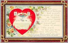 val002095 - Valentines Day Post Cards Old Vintage Antique Postcards