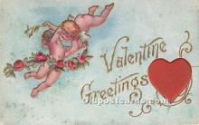 val002096 - Valentines Day Post Cards Old Vintage Antique Postcards