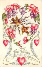 val002099 - Valentines Day Post Cards Old Vintage Antique Postcards