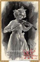 val002104 - Valentines Day Post Cards Old Vintage Antique Postcards