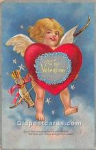 val002111 - Valentines Day Post Cards Old Vintage Antique Postcards