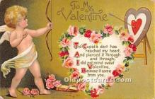 val002112 - Valentines Day Post Cards Old Vintage Antique Postcards