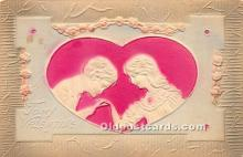 val002114 - Valentines Day Post Cards Old Vintage Antique Postcards