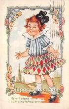val002119 - Valentines Day Post Cards Old Vintage Antique Postcards