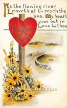 val002120 - Valentines Day Post Cards Old Vintage Antique Postcards