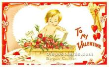 val002121 - Valentines Day Post Cards Old Vintage Antique Postcards